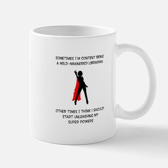 Librarian Superheroine Mug