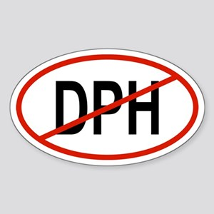 DPH Oval Sticker