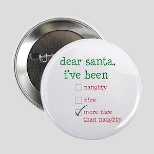 "naughty or nice 2.25"" Button"