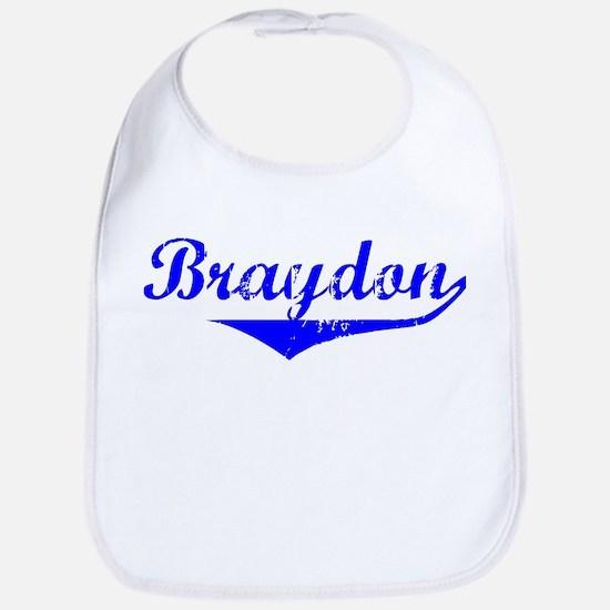Braydon Vintage (Blue) Bib