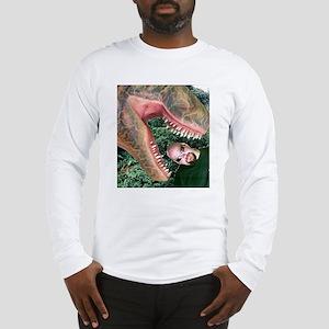 T Rex Attack ! Long Sleeve T-Shirt