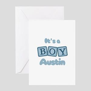 It's A Boy - Austin Greeting Card