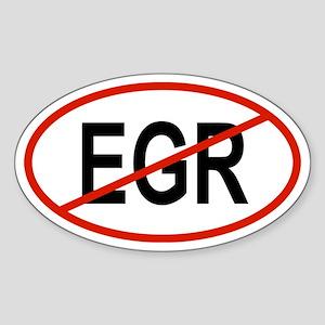 EGR Oval Sticker