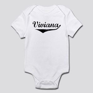 Viviana Vintage (Black) Infant Bodysuit