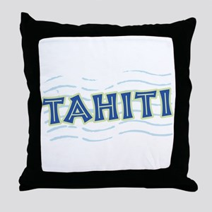 Tahiti Throw Pillow