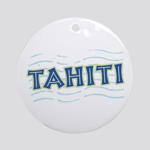Tahiti Ornament (Round)