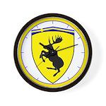 Prancing Moose 10 inch Wall Clock