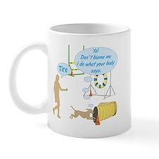 Body Says Mug