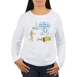 Body Says Women's Long Sleeve T-Shirt