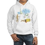Body Says Hooded Sweatshirt