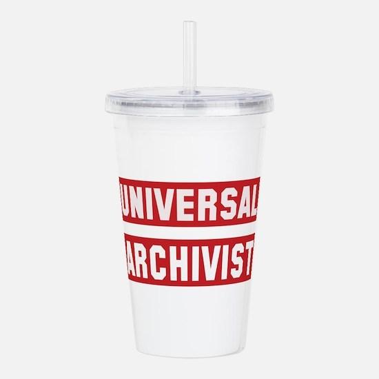 Universal Archivist Acrylic Double-wall Tumbler