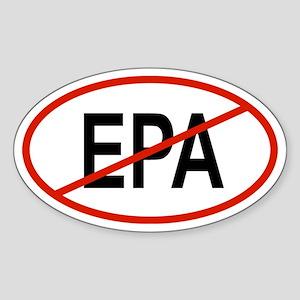 EPA Oval Sticker