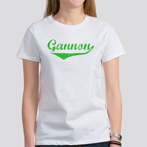 Gannon Vintage (Green) Women's T-Shirt