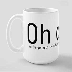 OH CRAP!! Large Mug