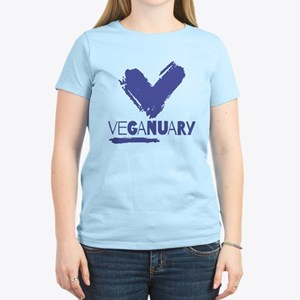 Veganuary! Dark Blue T-Shirt
