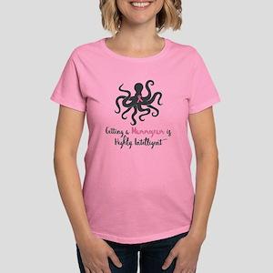 Mammogram Octopus Women's Dark T-Shirt
