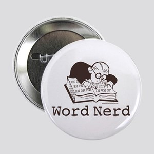 "Word Nerd Scrabble 2.25"" Button"