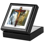 Crucifix/Pieta Keepsake Box