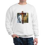 Crucifix/Pieta/St Francis Sweatshirt