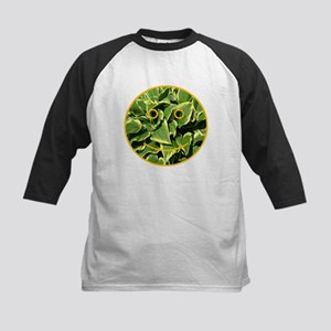Hosta Smiley Face Kids Baseball Jersey