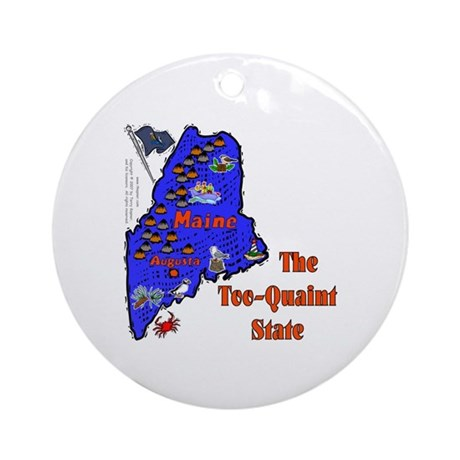 ME-Quaint! (a) Ornament (Round)