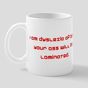 Dyslexia of Borg Mug