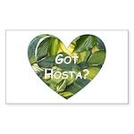 Got Hosta? Rectangle Sticker