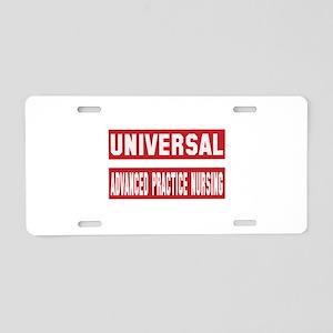 Universal Advanced practice Aluminum License Plate