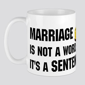 Marriage is funny! Mug