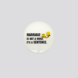 Marriage is funny! Mini Button