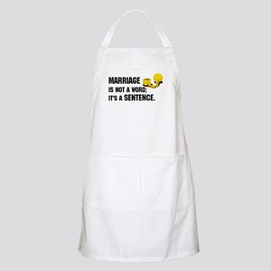 Marriage is funny! BBQ Apron