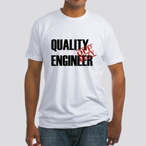 Off Duty Quality Engineer Fitted T-Shirt