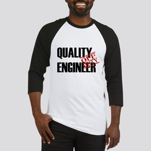 Off Duty Quality Engineer Baseball Jersey