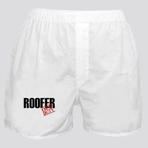 Off Duty Roofer Boxer Shorts