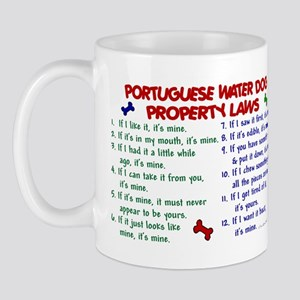 Portuguese Water Dog Property Laws 2 Mug
