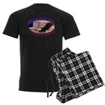 Freedom Rocks Radio Men's Dark Pajamas