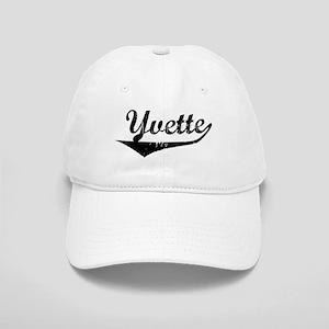 Yvette Vintage (Black) Cap