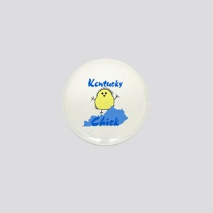 Kentucky Chick Mini Button