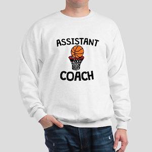 Assistant Basketball Coach Sweatshirt