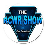 The RCWR Show Classic Logo Round Car Magnet