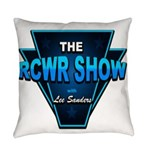 The RCWR Show Classic Logo Everyday Pillow