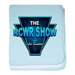 The RCWR Show Classic Logo baby blanket