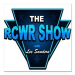 """The RCWR Show Classic Lo Square Car Magnet 3"""" x 3"""""""