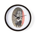 Little Skunk Big Tail Wall Clock