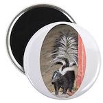 Little Skunk Big Tail Magnet