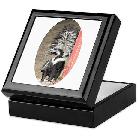 Little Skunk Big Tail Keepsake Box