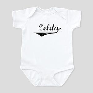 Zelda Vintage (Black) Infant Bodysuit