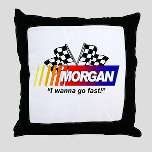 Racing - Morgan Throw Pillow