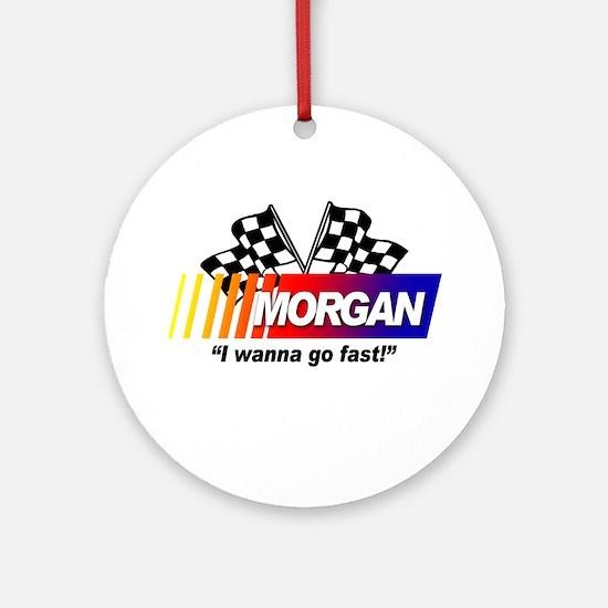 Racing - Morgan Ornament (Round)