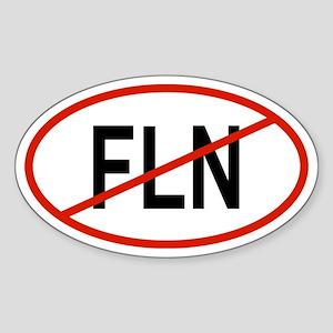 FLN Oval Sticker